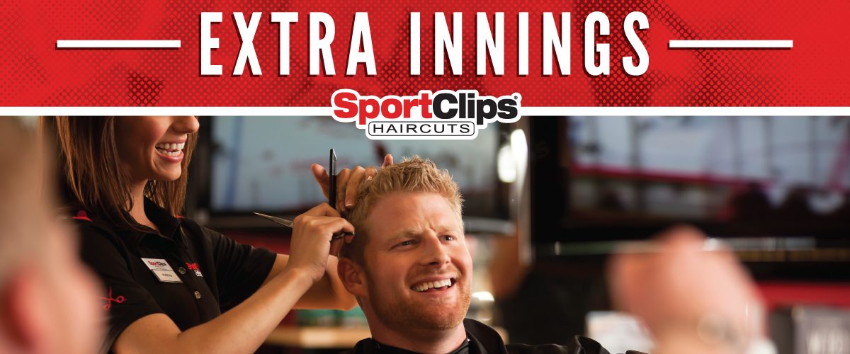The Sport Clips Haircuts of Stirling and Pine Island Extra Innings Offerings