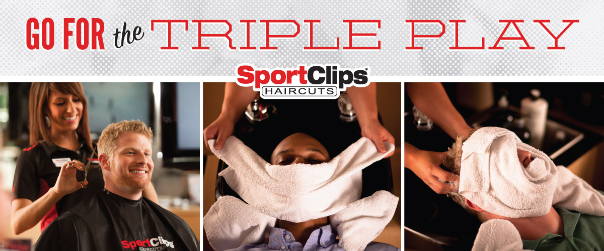 The Sport Clips Haircuts of Davie - Stirling and Pine Island Triple Play